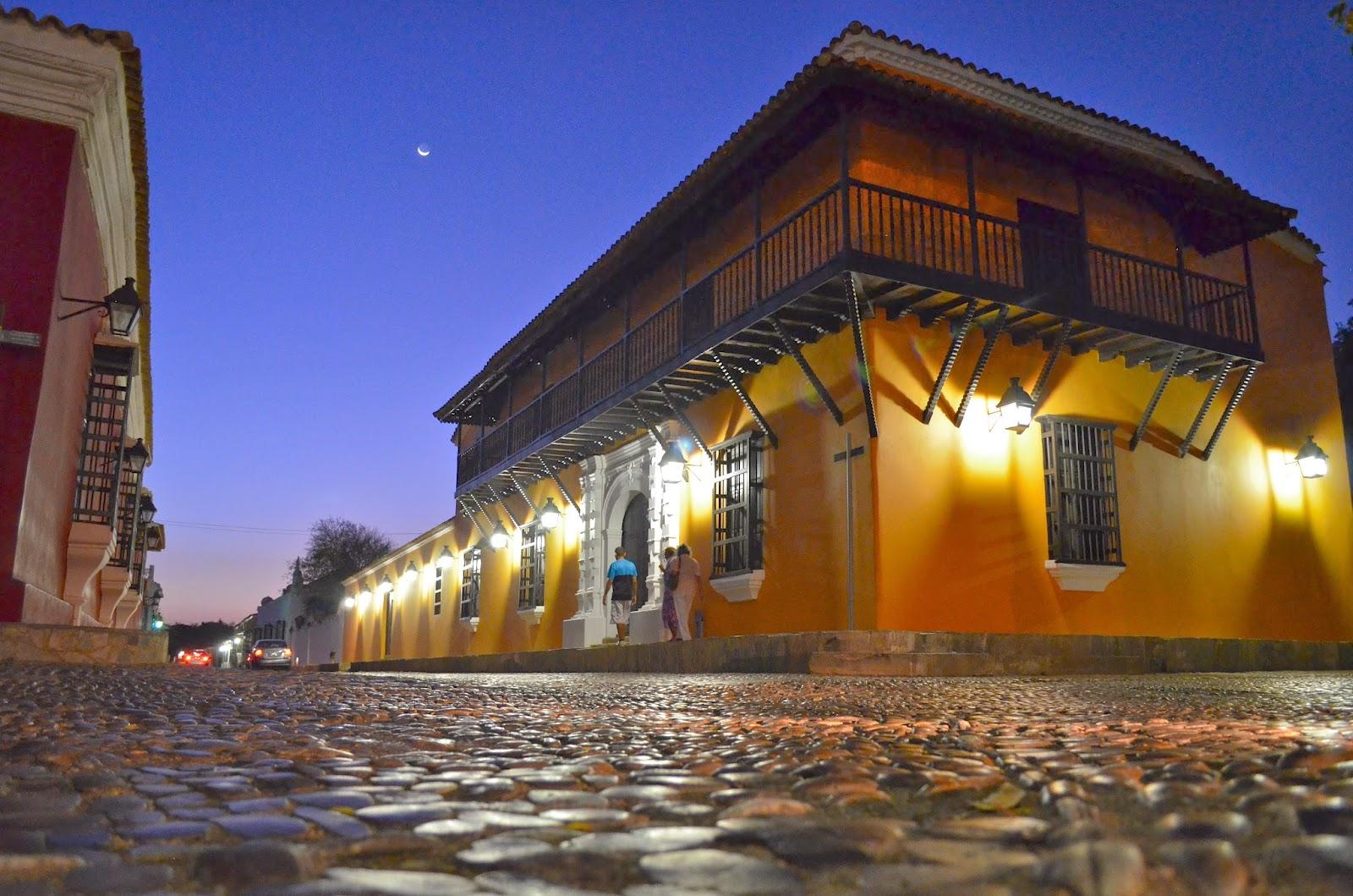 Một ngôi nhà có kiến trúc cổ tại Venezuela