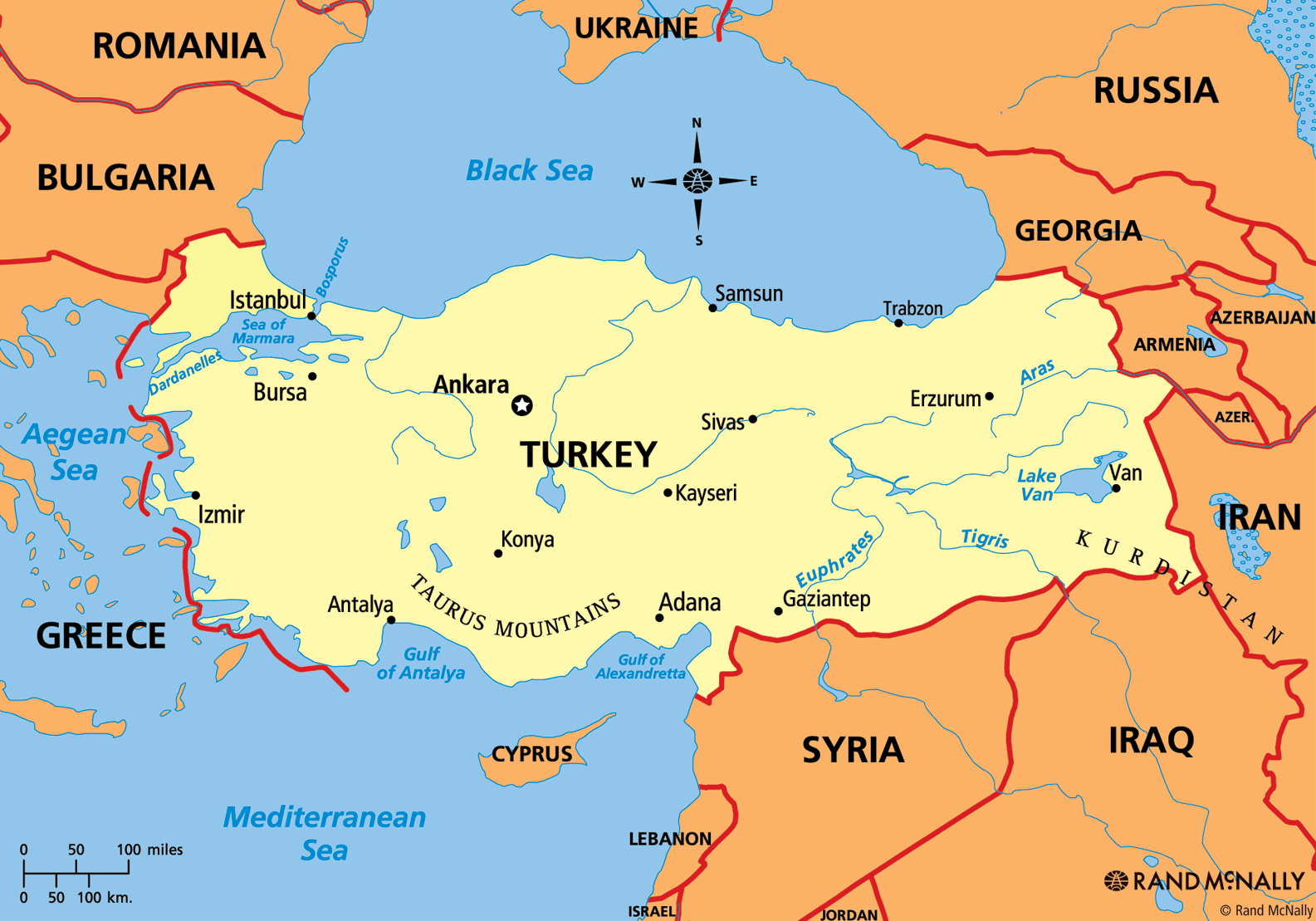 Turkey la nuoc nao