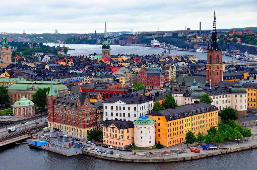 Sweden la nuoc nao