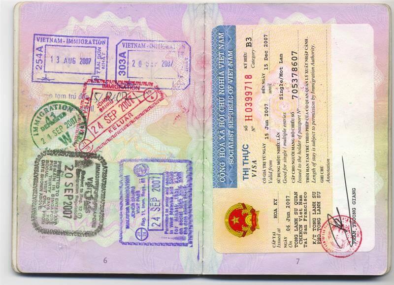 Vietnam visa fee for Colombia citizens - Tarifa de visa de Vietnam para ciudadanos de Colombia