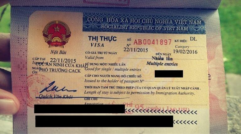 Vietnam Visa requirements for Paraguayan citizens - Requisitos de visa de Vietnam