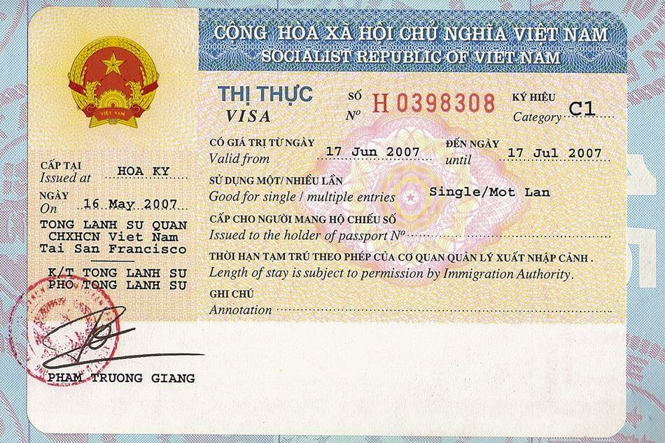 Vietnam visa for Suriname citizens - Visum voor Vietnam in Suriname