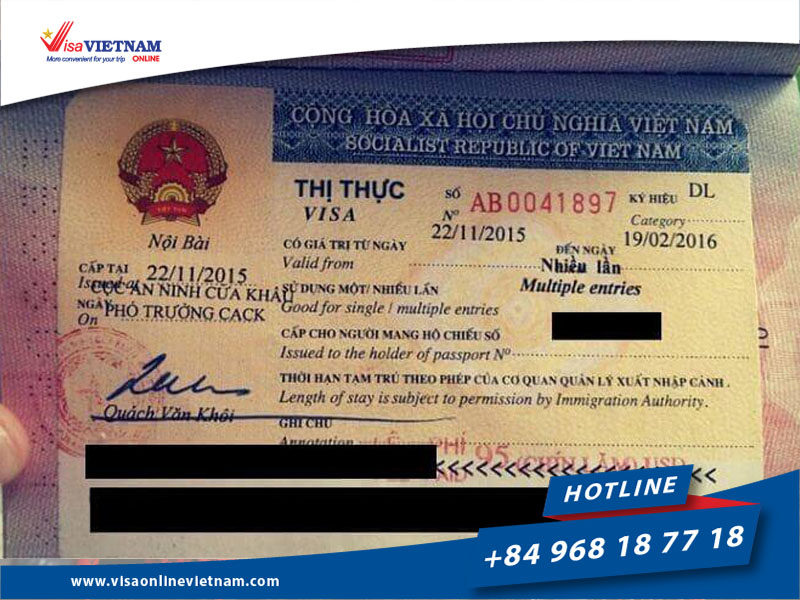 Requirements for foreigners about Vietnam visa extension in Malaysia