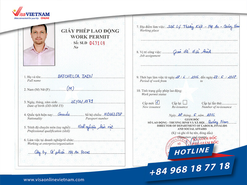 Requirements of Vietnam Visa For Canadian Citizens