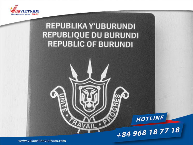 Best way to get Vietnam visa on arrival from Burundi