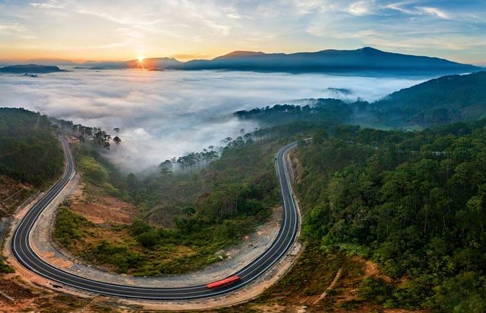 Roads in Da Lat