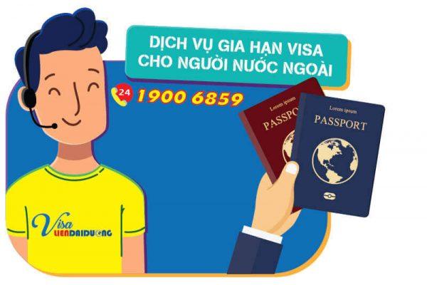 Dịch vụ gia hạn visa cho người nước ngoài uy tín tại TPHCM