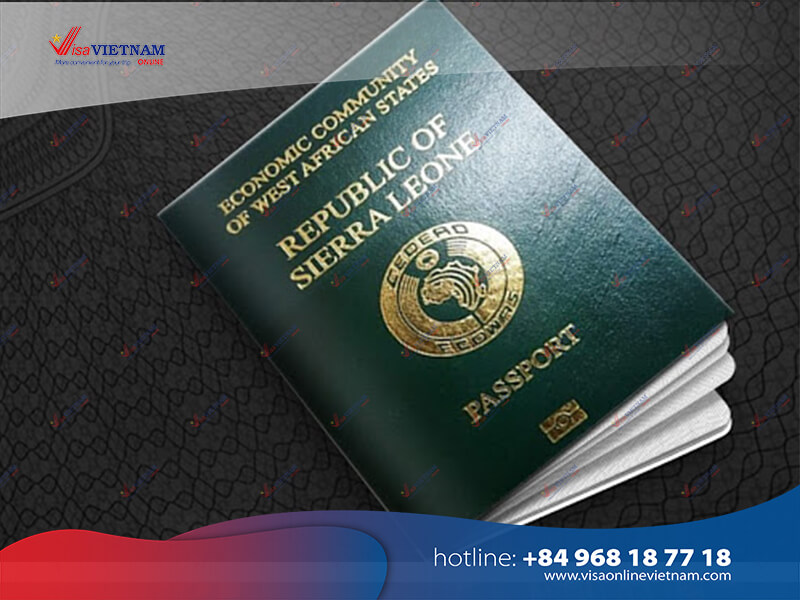 How many ways to apply for Vietnam visa in Sierra Leone?